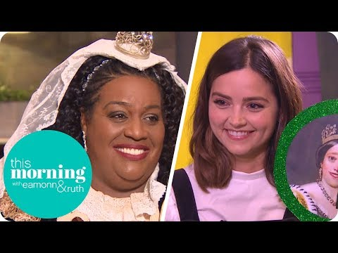 Jenna Coleman Teaches Alison How to Do Her 'Victoria' Accent | This Morning