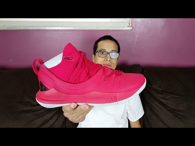 82e553e48c3a These Celebrate Curry s Championship Win! Under Armour Curry 5 Fired Up  Review! - YouTube