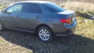 Toyota Corolla Робот 2009. Краткий обзор.