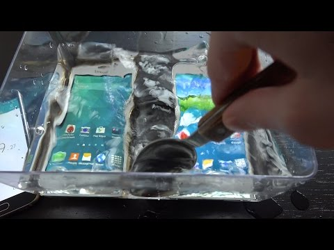 Fake Samsung Galaxy S5 vs Samsung Galaxy S5 Water Test - Will It Survive? 4K