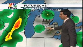 Slight chance for severe storms today