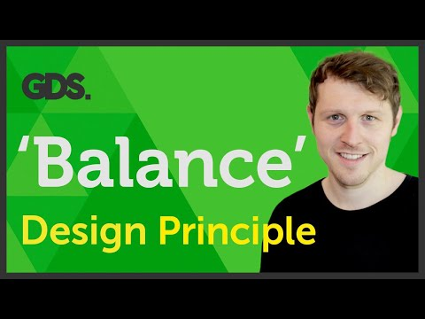 'Balance' Design principle of Graphic Design Ep12/45 [Beginners guide to Graphic Design]