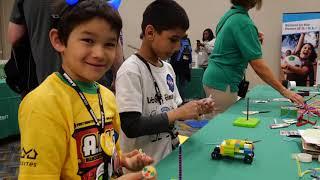 FIRST Chionship Detroit FIRST LEGO League Jr