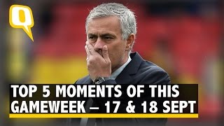 The Quint: Mourinho's 3rd Loss, Real's Record: Top 5 Moments of This Gameweek