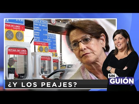 ¿Y los peajes?  - SIN GUION con Rosa María Palacios