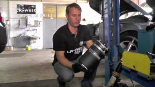 Ремонт пневмостойки на Рендж Ровер(, 2014-07-29T22:00:07.000Z)