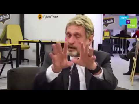 Discuss(Dec 28,2017) John McAfee: Blockchain, Bitcoin, Hackers & Cyber Security