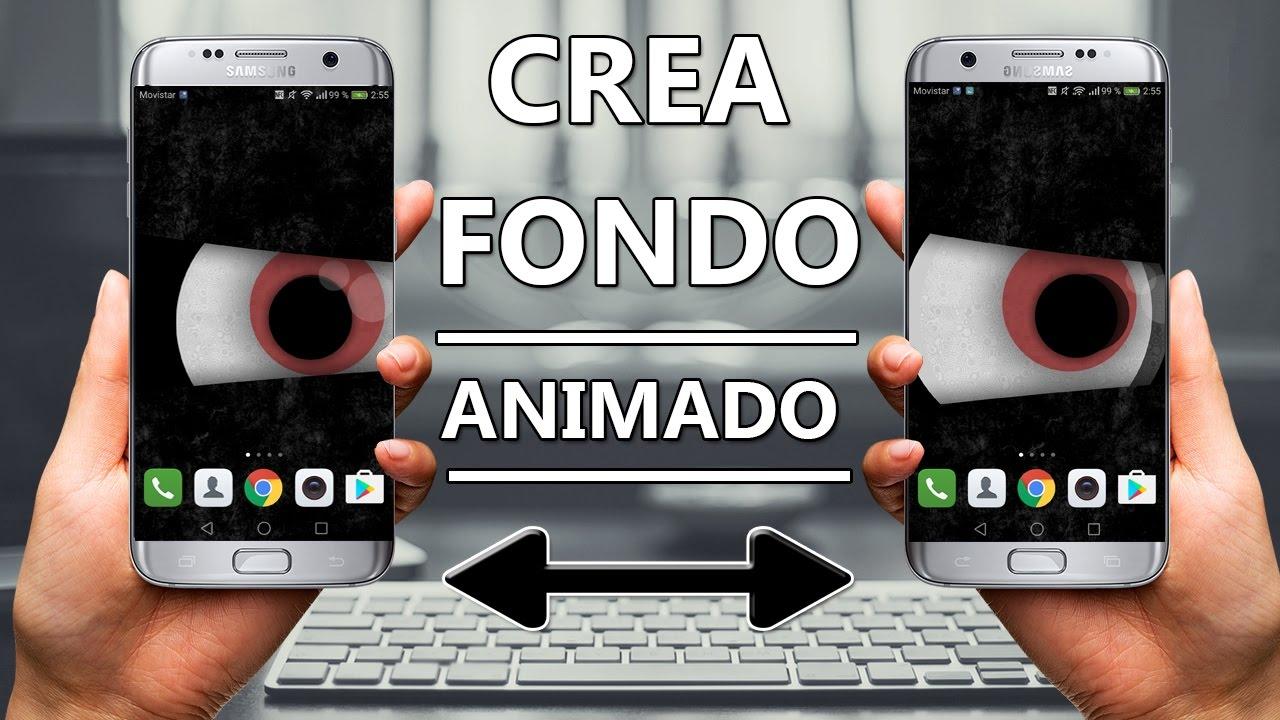 Crear fondo de pantalla animado personalizado tel fonos for Fondos de pantalla animados gratis para celulares