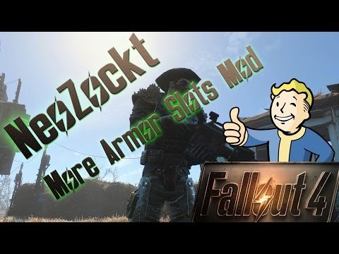 Fallout 4 Mod - More Armor Slots [german]