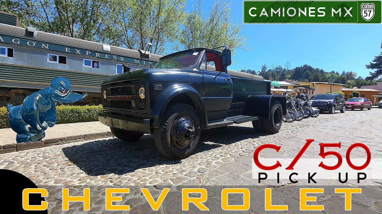 """¡Chevrolet C-50 1972 Pick Up """"El Chato"""" en Camiones Mx!"""