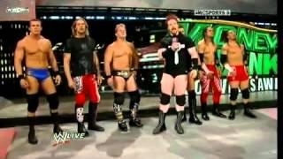 John Cena and His Raw Crew scares the Nexus