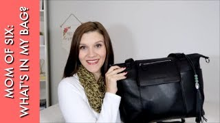 WHAT'S IN MY DIAPER BAG | Lily Jade Madeline Review