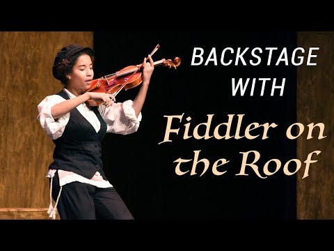 Backstage with Fiddler on the Roof | Acting Program