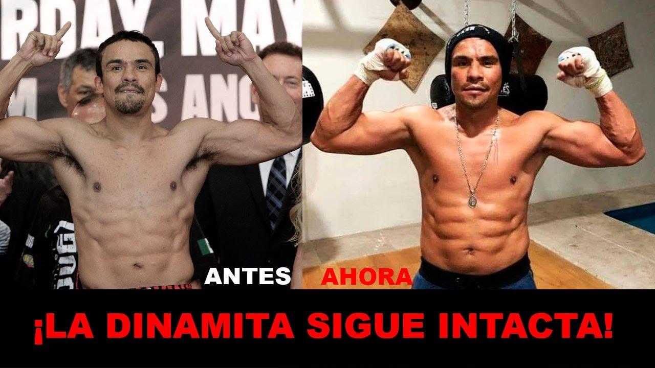 Juan Manuel Márquez luce un físico impresionante de cara a su posible pelea con Erik Morales.