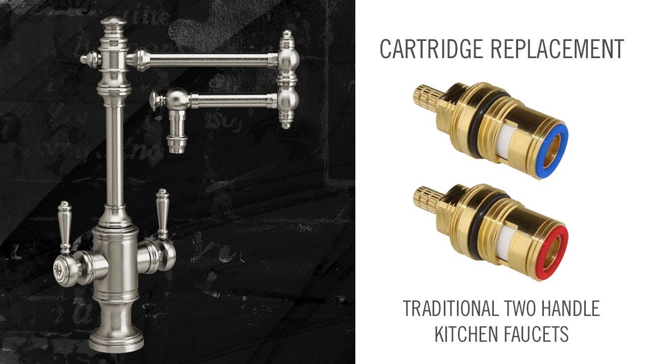 Cartridge Replacements on Waterstone Two Handle Kitchen Faucets ...