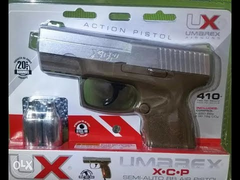 Umarex XCP c02 bb pistol review and field test  GIVEAWAY 2018