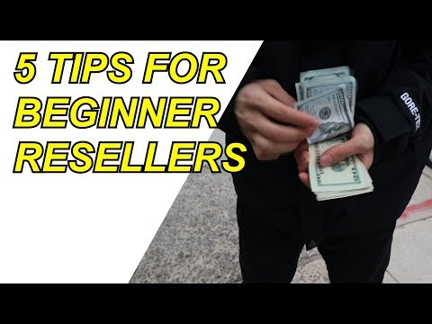 5 TIPS FOR BEGINNER SNEAKER RESELLERS – Manual & Botters