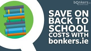 Save on back to school costs with bonkers.ie - Books