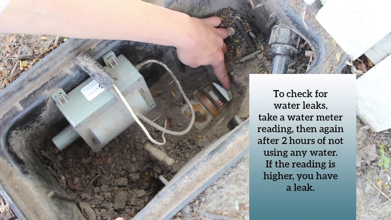 Do you have a water leak? Check your water meter. - YouTube [ 720 x 1280 Pixel ]