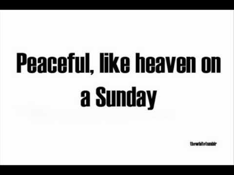 HEAVEN ON A SUNDAY  PAUL McCARTNEY  KARAOKE STYLE