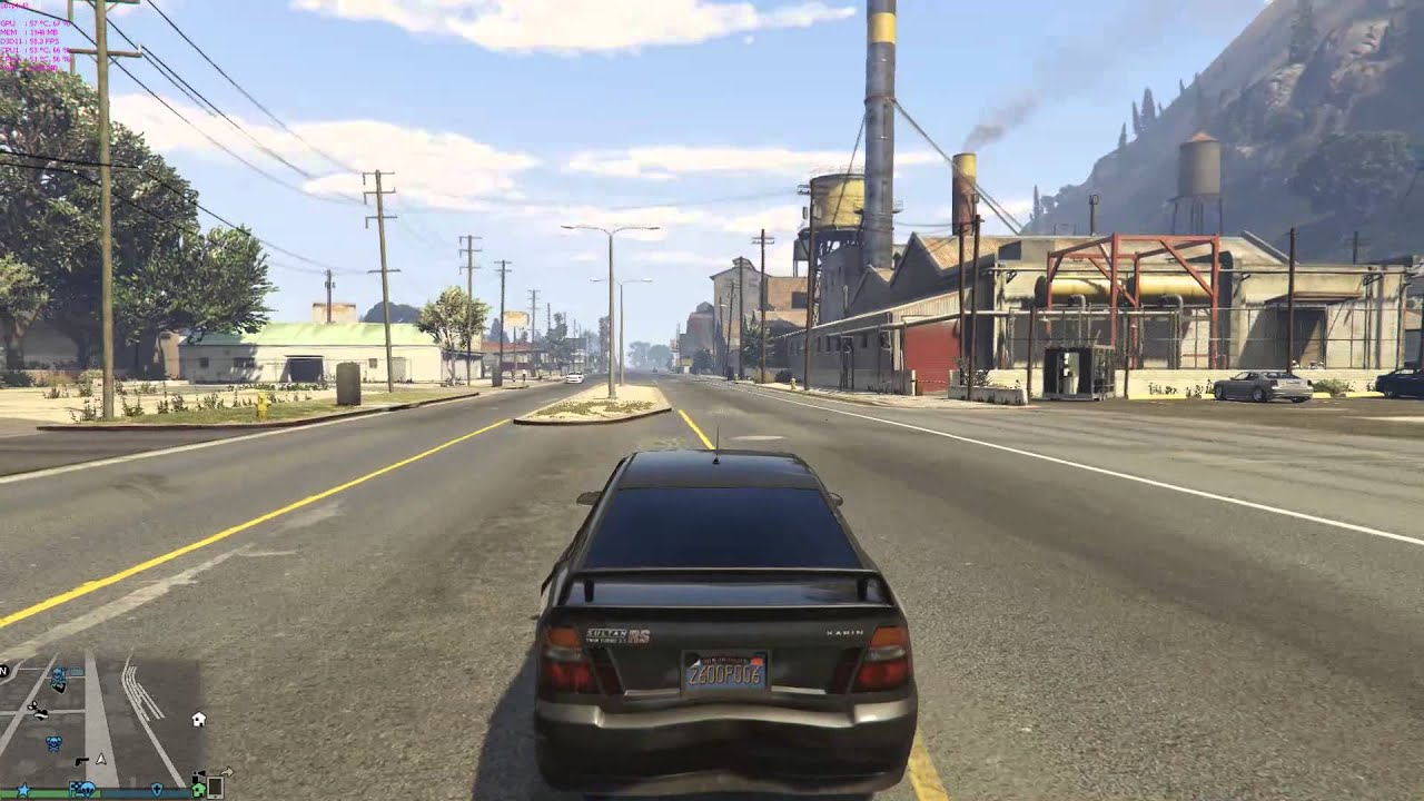 Grand Theft Auto V pc distance scaling problem,how can i solve this problem?