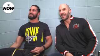 Cesaro and Seth Rollins' live reactions to Bray Wyatt's Firefly Funhouse gimmick