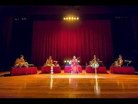 Dr. N. Rajam and family - Three Generations at their Best - Raga Madhuvanti on violin