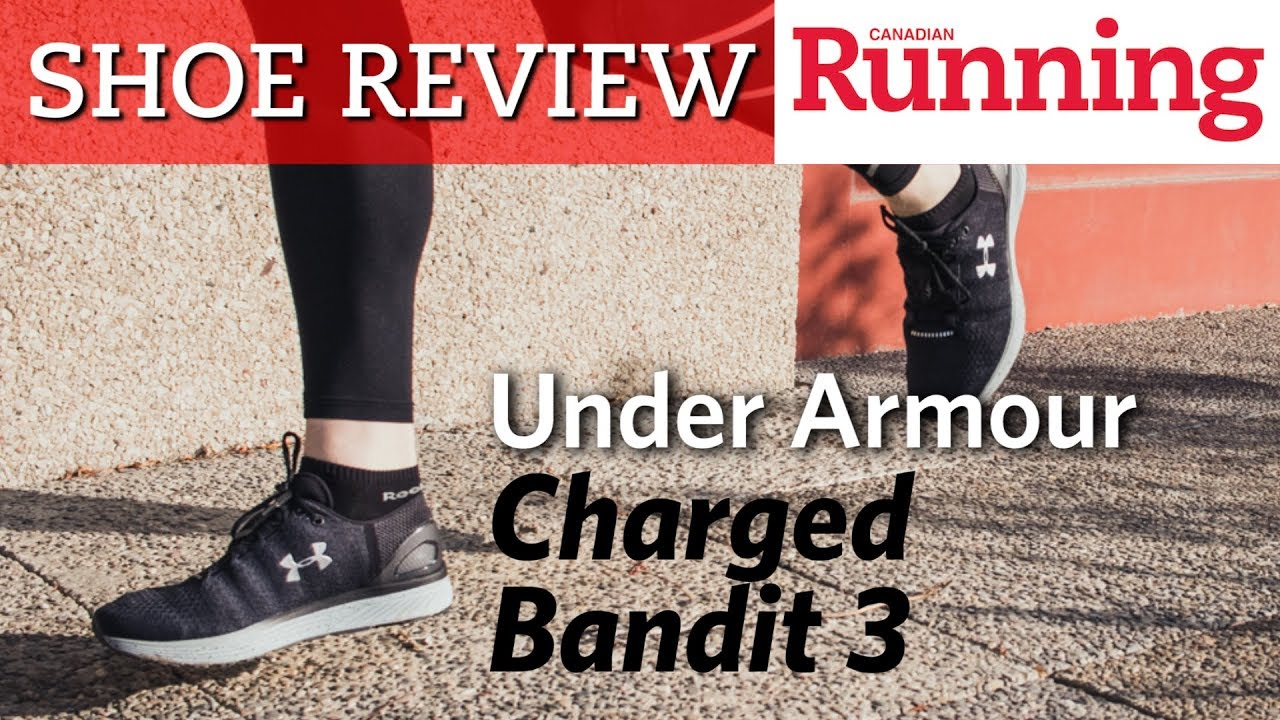 sale retailer 84a60 3a742 SHOE REVIEW: Under Armour Charged Bandit 3