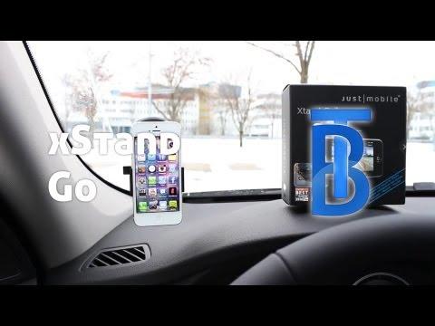 Review: Just Mobile Xtand Go - Autohalterung Für Das IPhone 5