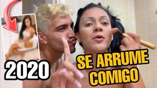 SE ARRUME COMIGO PARA 2020 ! LOOK, CABELO E MAKE ✨
