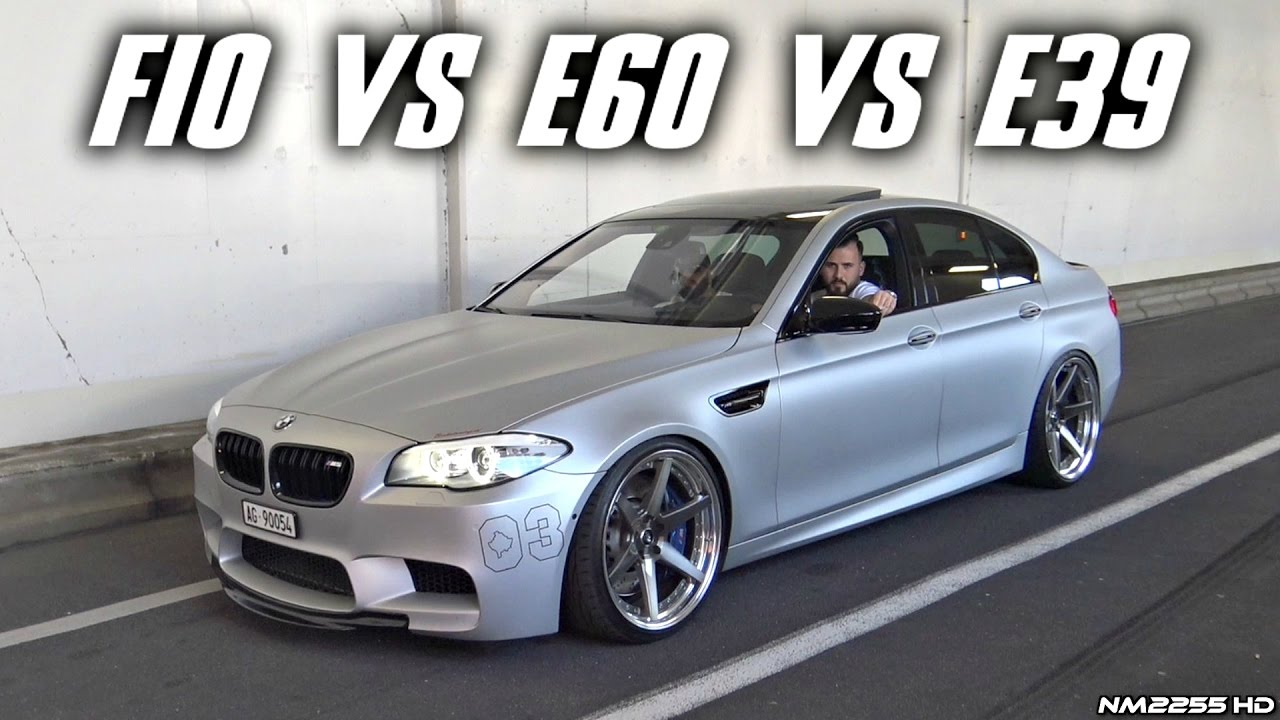 bmw m5 f10 vs e60 vs e39 exhaust sound comparison. Black Bedroom Furniture Sets. Home Design Ideas