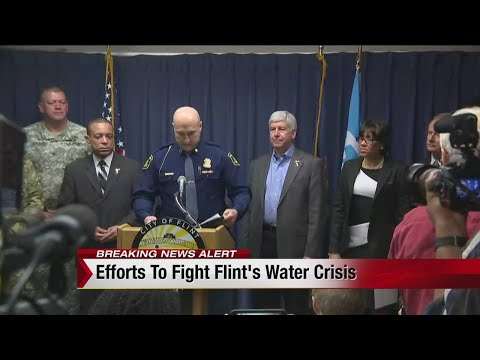Snyder updates Flint water crisis: More testing, requests money