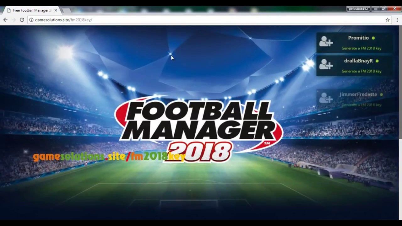 Football Manager 2018 Key Free | Get Steam Key Free
