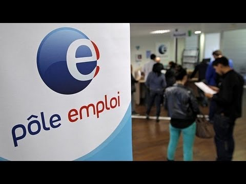 Record levels of unemployment in France