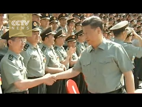 Xi visits People's Liberation Army, urges military reform