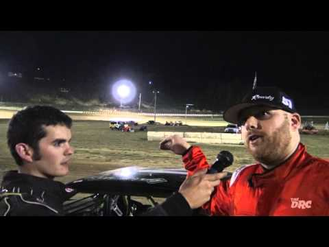 Brushcreek Motorsports Complex | 9.25.15 | Crazy Compacts | Feature Winner | Chris Vance