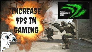 Best Nvidia Settings for Gaming | INCREASE OVERALL FPS IN DOTA2, CSGO, OVERWATCH