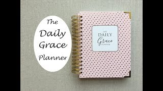 The Daily Grace Planner - {Undated Daily}