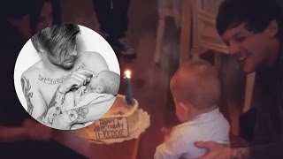 louis tomlinson celebrates freddies 1st bday after breakup with danielle campbell