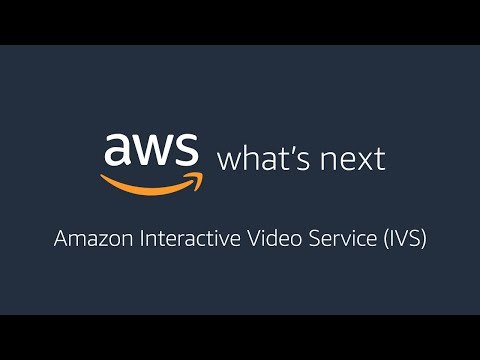 AWS What's Next ft. Amazon IVS
