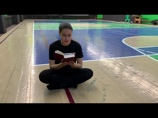Сулейманова Дина читает произведение «Песня» (Бунин Иван Алексеевич)