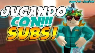 🏆 PLAYING WITH SUBS/ROBLOX DIRECT