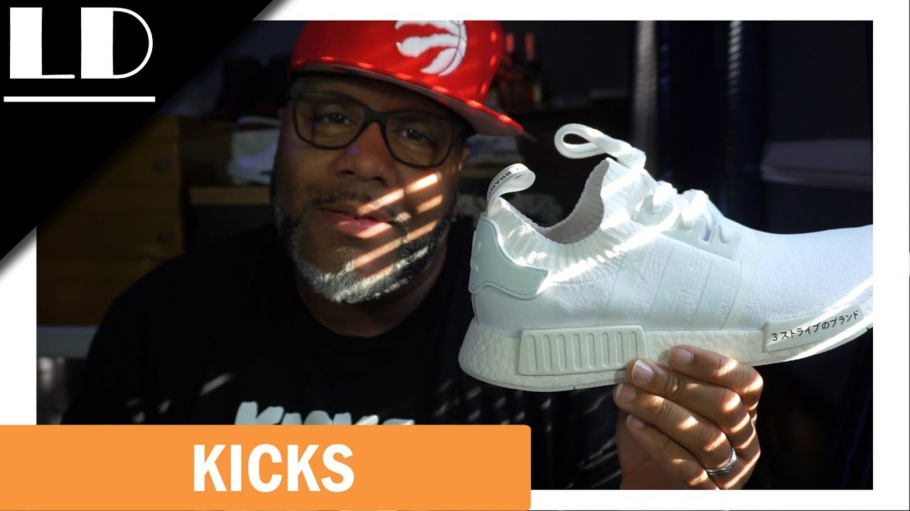 "ad9af00746f25 Adidas NMD R1 PK ""Japan Boost"" Pack in Triple White! Super clean look!"