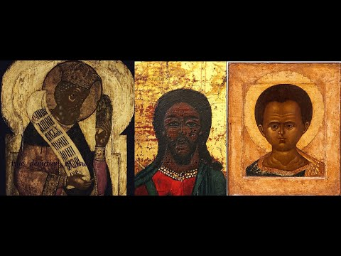 100+ IMAGES, (BLACK) RUSSIAN/BYZANTINE RELIGIOUS ART & ICONS (HISTORY HAS BEEN A WHITEWASH)