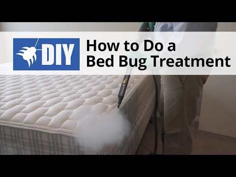 How To Do A Bed Bug Treatment Youtube