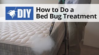 Bed Bug Treatment - How to Get Rid of Bed Bugs Yourself
