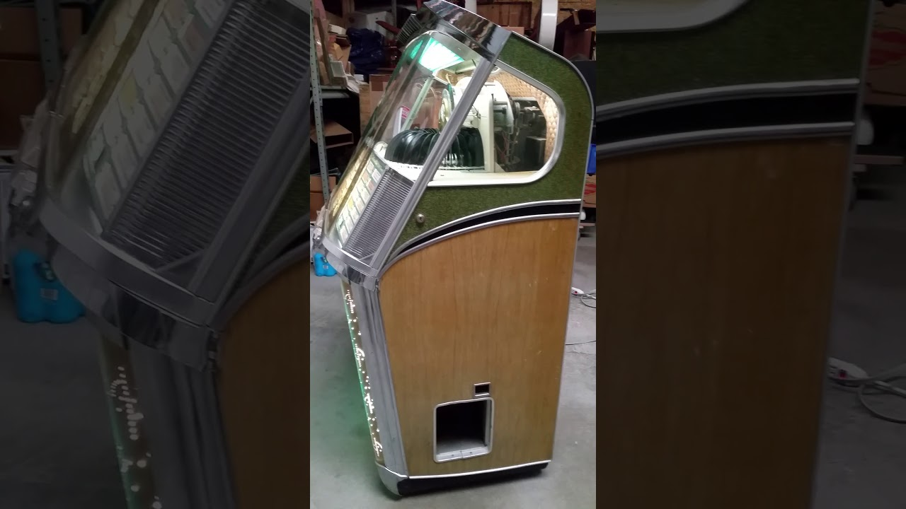 1957 Wurlitzer 2104 Jukebox for sale