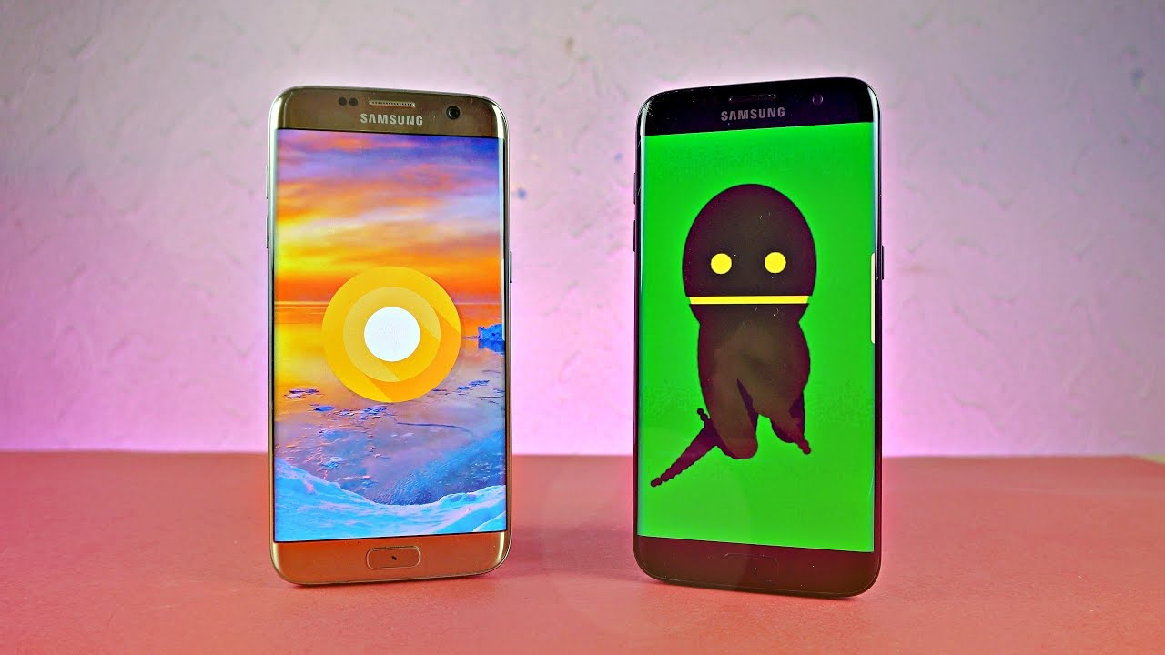 Samsung Galaxy S7 Edge Android 8 0 Oreo Official Review!
