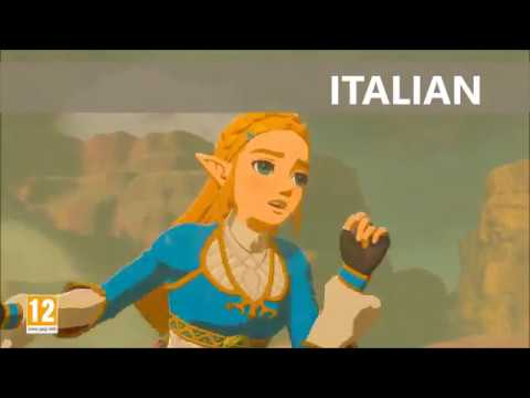 Princess Zelda crying in 7 different languages