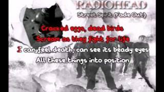 Street Spirit (Fade Out) (Radiohead) Karaoke
